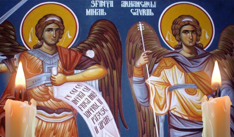 Rugăciune către Arhanghelii Mihail și Gavriil